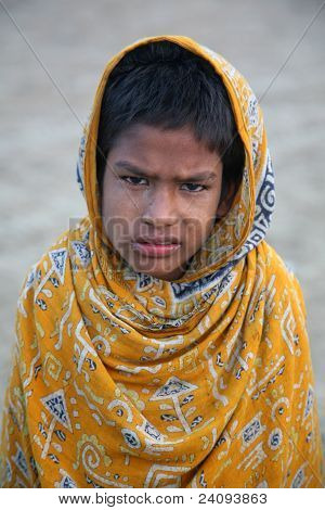 Portrait Of Indian Boy