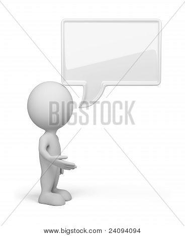 3D Person - Talk
