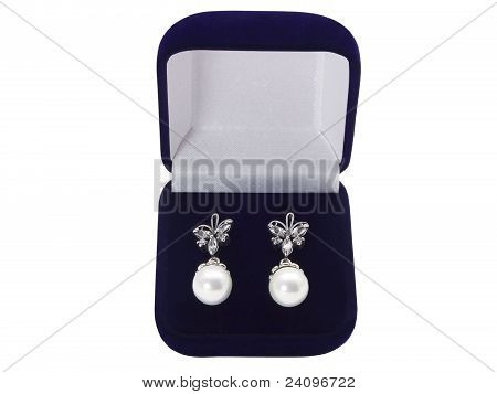 Earrings In A Gift Box