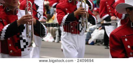 Jugadores de la roja Trombone