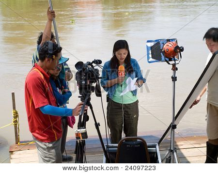Estación de los monzones en Ayuttaya, Tailandia 2011