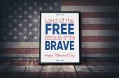 Happy Memorial Day - Land Of The Free Because Of The Brave poster