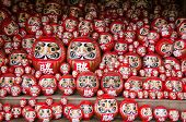 stock photo of minos  - Traditional japanese Daruma dolls at Katsuo Ji Temple in Mino Japan - JPG
