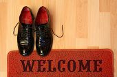 foto of loafers  - welcome home - JPG