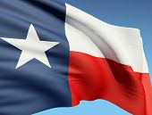 picture of texas flag  - The Texas flag - JPG