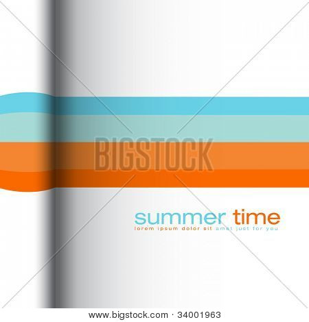 Sommer Farben abstract Vector background