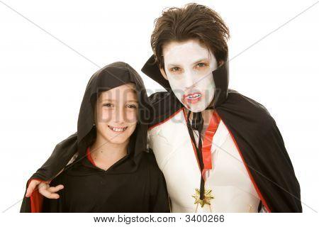 Costumed Boys