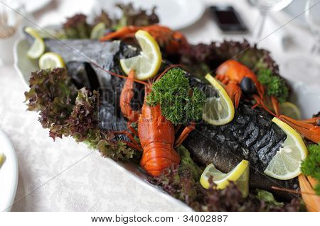 Sturgeon And Crayfishes