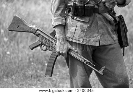 MP43 subfusil ametrallador