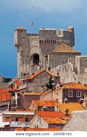Tower in Dubrovnik