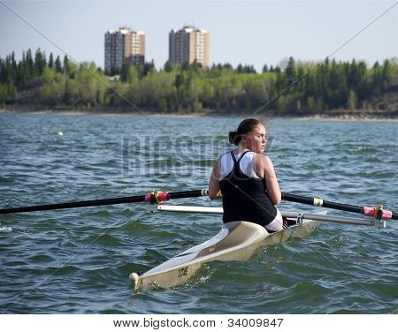 Rowing for Gold