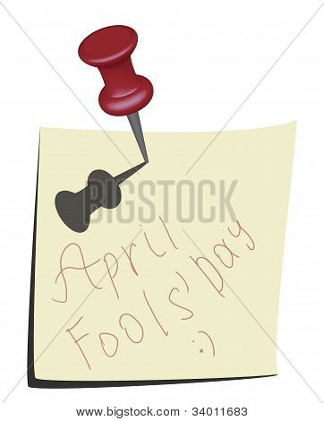 April Dummköpfe Tag Kalendersymbol