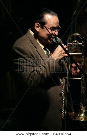 MADISON, NJ - JUNE 16: Steve Turre performs with his Quartet at Shanghai Jazz on June 16, 2012 in Madison, NJ.