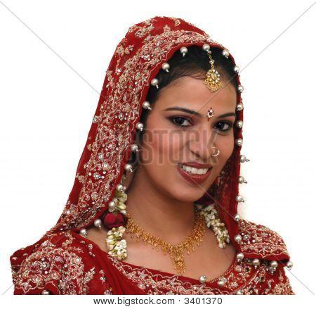 Joven novia India
