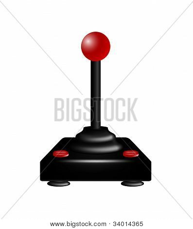 Joystick in retro design