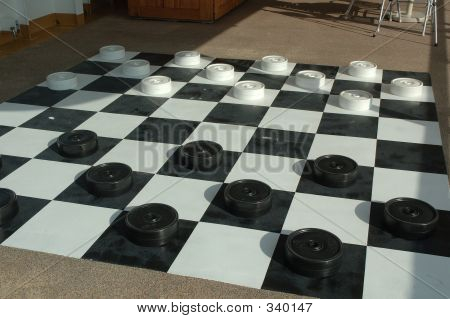 Oversize Checkers