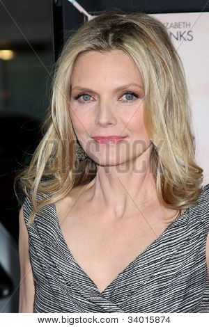 LOS ANGELES - JUN 15:  Michelle Pfeiffer arrives at the