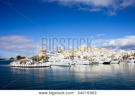 Port In Puerto Banus