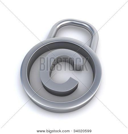 Copyright Padlock