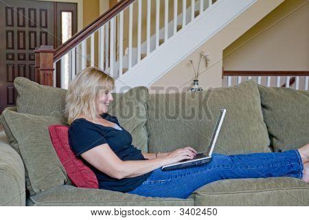 Mujer que trabaja