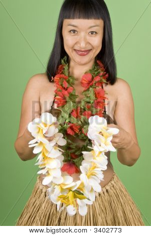 Hawaiian Hula Girl