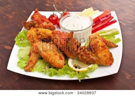 Spicy Buffalo Chicken Wings