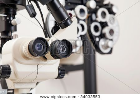 Advance equipments in the clinic to detect any eye disorders