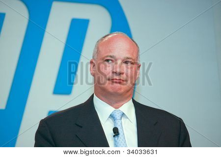 Las Vegas, Nv - June 4, 2012: Hp Senior Vice President And General Manager Of Hp Storage David Scott