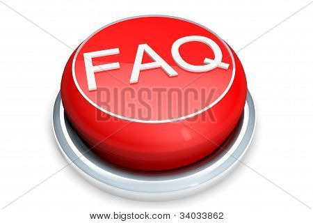Faq Button Concept