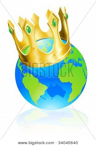 King Of The World Concept