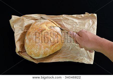 Corte o pão