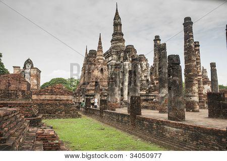 Sukkotai temple complex