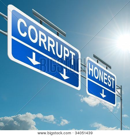 Corrupt Or Honest.