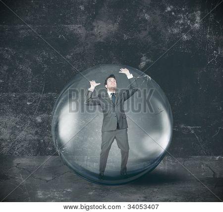Businessman Entrapped