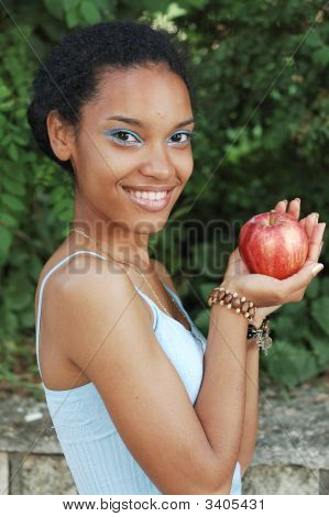 With Red Apple