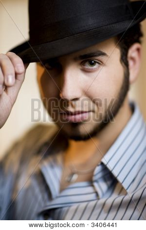 Young Man In A Fedora