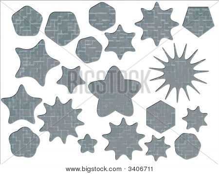 Acu Universal Army Urban Camouflage Effect Special Offer Badges And Star Shapes