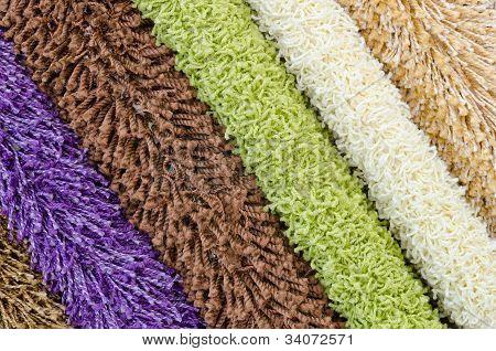 Shaggy Carpet Samples