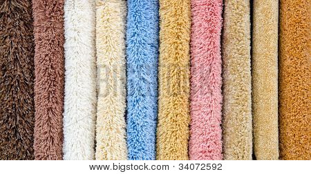 Different Carpet Samples