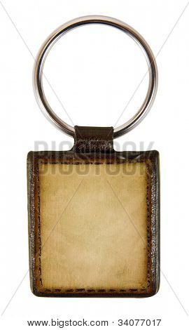 keychain isolated on white background