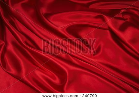 Red Satin/Silk Fabric 1