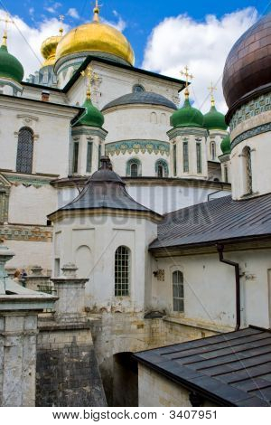Resurrection Cathedral In New Jerusalem Monastery