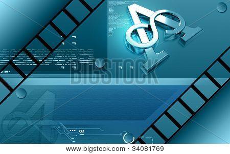 símbolo do ateu