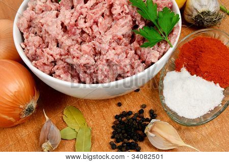 Forcemeat With Spices