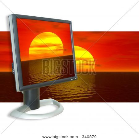 Monitor Sunset