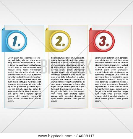 Three Color Card