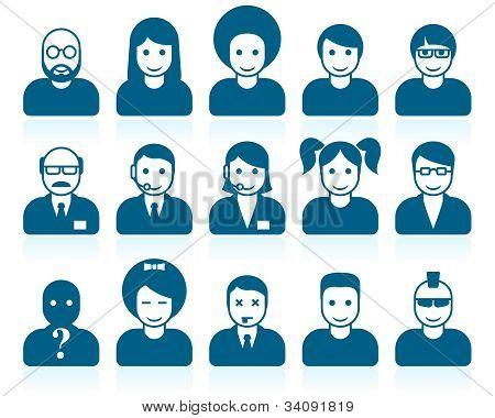 Simple People Avatars