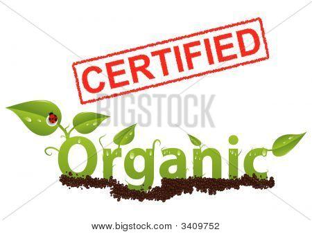 Zertifiziert organische