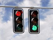 Traffic Lights Red And Green