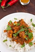 picture of indian food  - Chicken Curry - JPG